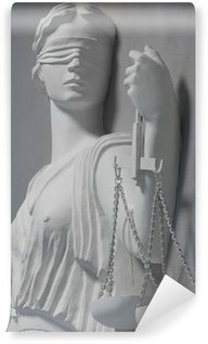 Vinylová Fototapeta Spravedlnost socha