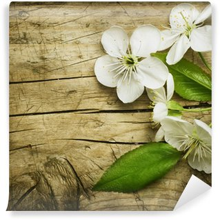 Fototapeta Vinylowa Spring Blossom na tle drewniane