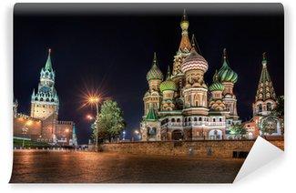 Vinylová Fototapeta St Basil je katedrála na Rudém náměstí v Moskvě.