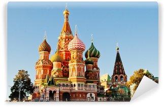 Vinylová Fototapeta St Basil je katedrála, Rudé náměstí, Moskva