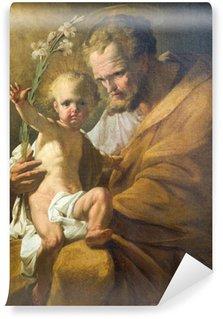 Fototapeta Vinylowa St. Farby wiedeńskiego kościoła Joseph