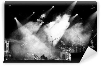 Vinylová Fototapeta Stage ve světlech - Black and White