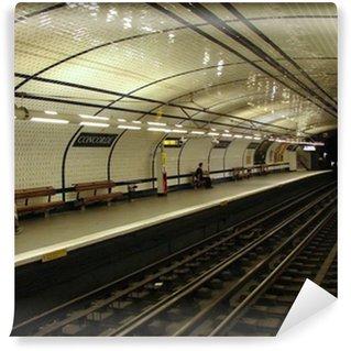 Vinylová Fototapeta Stanice metra (concorde, Paříž)