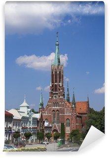 Fototapeta Vinylowa Stara katedra w Grybowie - Polska