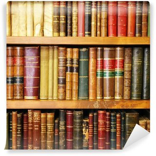 Vinylová Fototapeta Staré knihy, knihkupectví, knihovny