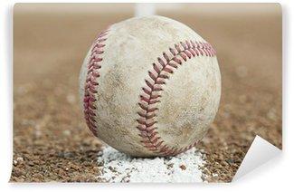 Vinylová Fototapeta Staré opotřebované baseball