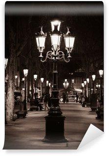 Vinylová Fototapeta Staré pouliční světlo v Barceloně
