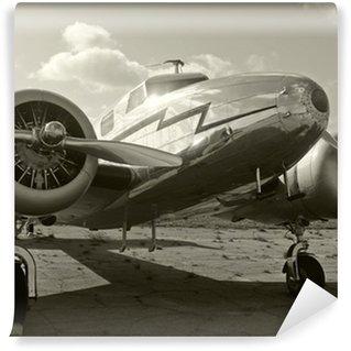 Fototapeta Winylowa Stare śmigło samolotu