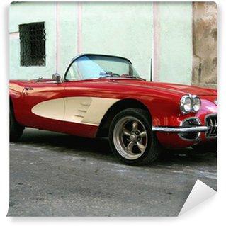 Vinylová Fototapeta Staré sportovní auto v Havaně