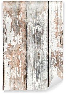 Vinylová Fototapeta Staré zchátralé dřevěné fošny