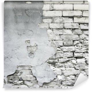 Vinylová Fototapeta Staré zničené zdi vektor pozadí
