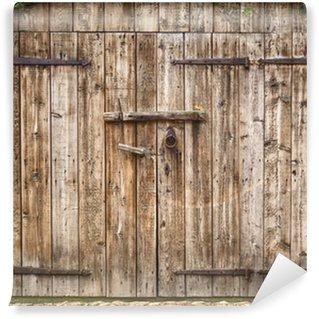 Vinylová Fototapeta Staré zvětralé stodoly