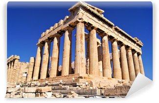 Vinylová Fototapeta Starobylé Parthenon, Akropolis, Atény, Řecko