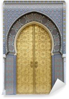 Vinylová Fototapeta Starověké dveře, Maroko