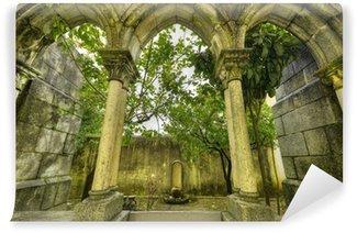 Vinylová Fototapeta Starověké gotické oblouky v Evora, Portugalsko.
