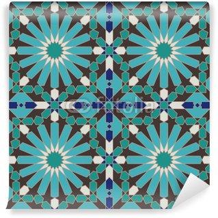 Vinylová Fototapeta Starověké Seamless Pattern Maroko