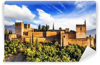 Vinylová Fototapeta Starověkých arabština pevnost Alhambra, Granada, Španělsko