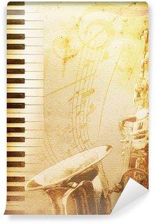 Vinylová Fototapeta Starý jazz papír