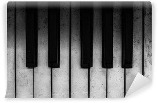 Vinylová Fototapeta Starý klavír klávesy