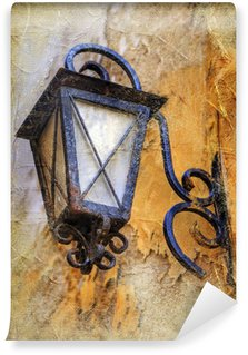 Vinylová Fototapeta Starý lantern- umělecké vintage picture
