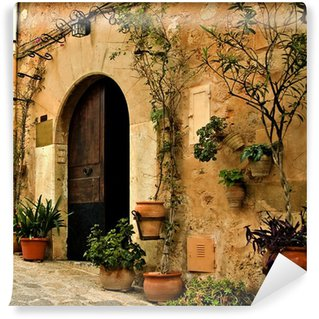 Vinylová Fototapeta Starý Mediterranean Village