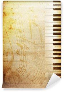 Vinylová Fototapeta Starý papír plán
