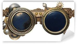 Vinylová Fototapeta Steampunk brýle