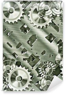 Vinylová Fototapeta Steampunk čepy a ozubená kola