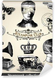 Vinylová Fototapeta Steampunk kolekce 2