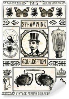 Vinylová Fototapeta Steampunk kolekce