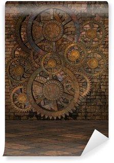 Vinylová Fototapeta Steampunk pozadí