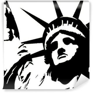 Vinylová Fototapeta Sticker - tapety - Statue de la Liberté