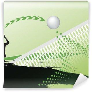 Vinylová Fototapeta Stolní tenis