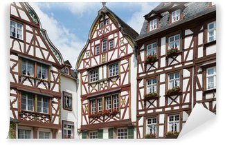 Vinylová Fototapeta Středověké domy v Bernkastel, Německo