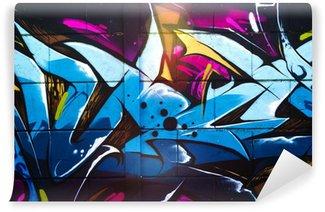 Fototapeta Winylowa Street art grafiti