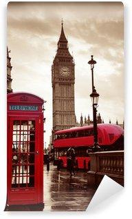 Fototapeta Winylowa Street Londyn