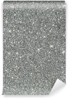 Vinylová Fototapeta Stříbrné třpytky pozadí