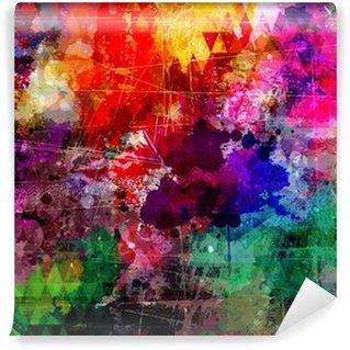 Vinylová Fototapeta Styl grunge abstraktní akvarel pozadí