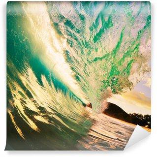 Vinylová Fototapeta Sunset Wave
