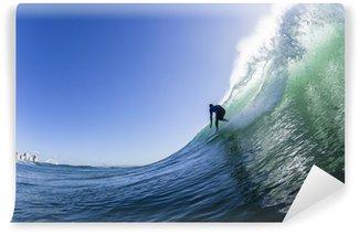 Vinylová Fototapeta Surfování Action Wave Plavání
