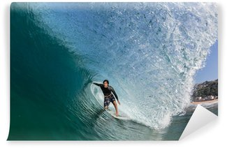 Vinylová Fototapeta Surfování Tube Ride Velký Wave