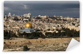Vinylová Fototapeta Svaté město Jeruzalém z Izraele