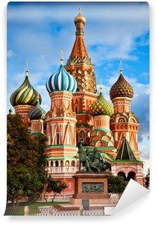 Vinylová Fototapeta Svatý Basil katedrála v Moskvě