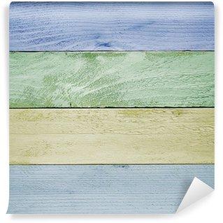 Vinylová Fototapeta Světlo barevné dřevo prkna textura