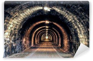 Vinylová Fototapeta Světlo na konci tunelu
