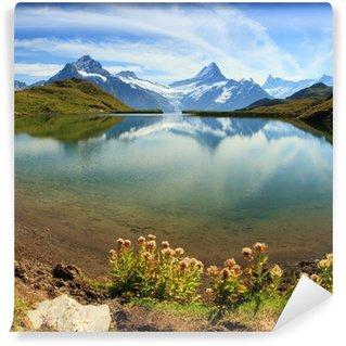 Vinylová Fototapeta Švýcarské Alpy horské jezero - Grindelwald