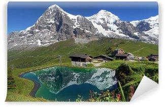 Vinylová Fototapeta Švýcarské Alpy krajina
