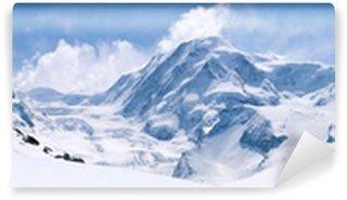 Vinylová Fototapeta Švýcarské Alpy pohoří Krajina