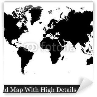 Fototapeta Winylowa Świat, mapa, świat, świat kula, ziemia, mapa
