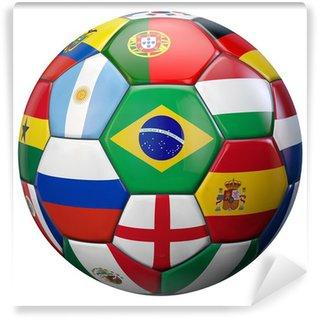 Fototapeta Vinylowa Świat Piłka nożna
